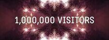 1 MILLION GENUINE TRAFFIC+VISITORS FOR YOUR WEBSITE+ALEXA IMPROVE+ADSENSE SAFE