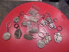 Petit Lot d'Anciens Porte Clé  métal
