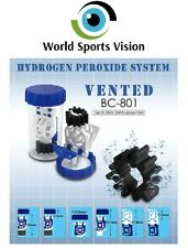 Hydrogen Peroxide Contact Lens Solution Case Vented Universal 3 Pcs