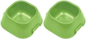 (2 Pack) VanNess Lightweight Food/Water Dish For Pets, Medium, 20 Ounce Capacity