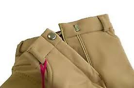 Ladies Dever Thermal Breeches Black