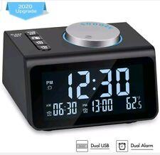 New ListingTe-Rich Small Digital Alarm Clock Radio, Dimmer