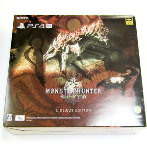 Sony PlayStation 4 Pro MONSTER HUNTER: WORLD LIOLAEUS EDITION PS4 Capcom Hunting