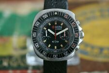 Roamer Stingray Diver Chronograph Valjoux 23 stainless steel Vintage 70ies