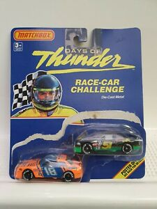 Matchbox 1:64 1990 Days Of Thunder Race-Car Challenge. TWO x Two Pack Set 32520
