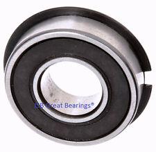 (Qty.10) 6205-2RS-NR seals bearing W/ Snap Ring ball bearings 6205-2RS NR