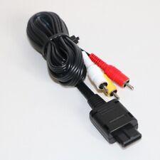 OFFICIAL GENUINE NINTENDO GAMECUBE SNES N64 64 AV TV LEAD CABLE