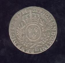 Escudo Luis XV Con Laurel 1734 E Trucos