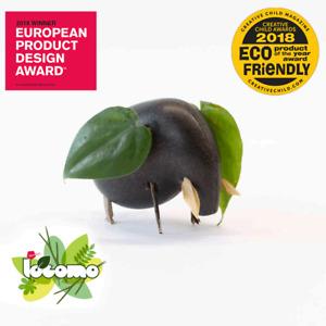 Award Winning Eco-Friendly Locomo Elmer (Elephant) | Outdoor Wooden Toy