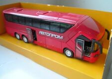Avtoprom Bus 1:50 (21cm) Scale Diecast NEW. Opening door. Free shipping