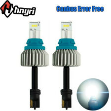 Canbus T15 LED Bulbs White 921 912 CSP 9SMD 4000LM Backup Reverse Light 6500K x2