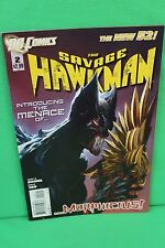 The Savage Hawkman #2 Morphicius Comic Dc Comics New 52 Vf