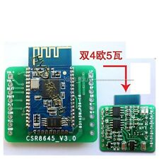 Bluetooth 4.0 Amplifier Board 5W+5W CSR8645 APT-X Hifi Stereo Receiver Module 5V