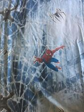 Spiderman 3 The Movie Twin Flat Sheet Cotton Blend Marvel Characters Quilting