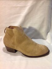 Office Brown Ankle Suede Boots Size 37
