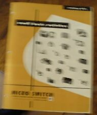 Micro Switch Catalog 63a Honeywell Small Basic Switches 1960s Free US Shipping