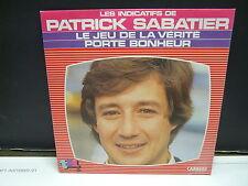 PATRICK SABATIER génériqque TV Le jeu de la vérité 13694