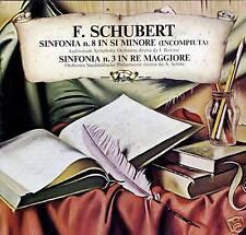 SCHUBERT Sinfonia n.8 in si minore LP Used