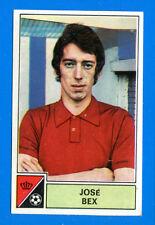 FOOTBALL 1972-73 BELGIO -Panini Figurina-Sticker n. 80 - J. BEX -BERINGEN-Rec
