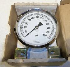 "New listing Noshok 40-310 0-600-Psi 4"" Liquid Filled Pressure Gauge New In Box Nos"