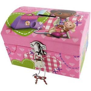 Doc McStuffins Girls Jewellery Trinket & Money Savings Box With Lock
