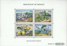 Monaco block49 (complete issue) used 1990 the four Seasons