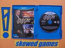 007 Legends - James Bond - cib - Wii U Nintendo