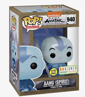 FUNKO POP AVATAR THE LAST AIRBENDER AANG SPIRIT #940 BOXLUNCH EARTH DAY CONFIRM