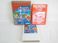 SUKEBAN DEKA II 2 Item Ref/bcb Gold Cartridge Sega Mark III 3 Japan Game m3