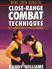Wing Chun Gung Fu Close Range Techniques #1 Combat Attacking Dvd Randy Williams