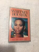 Whitney Houston Cassette Music Tape 1985 All At Once You Give Good Love UNTESTED