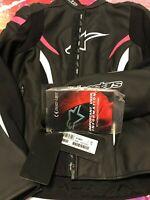 Alpinestars Stella Women GP Plus R V2 Airflow Leather Riding Motorcycle Jacket