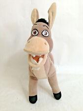 "Nanco Shrek 2 Donkey Stuffed Plush Animal Toy Doll 12"" Tall"