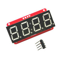4 Digit 7-Segment 0.56 Inch LED Display Module HT16K33 I2C for