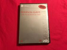 Marvin Gaye - Live in Montreux 1980 DVD / CD Brand New Sealed