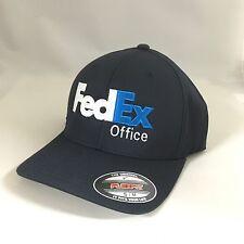 FedEx Office Flexfit Hat Yupoong Custom Structured Twill Cap Dark Navy XL/XXL