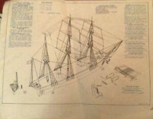 "Bausatz Schiffsmodell Dreimastbark ""Purkua Pa"", Maßstab 1:100"