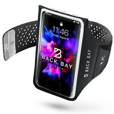 Back Bay No-Slip Running Armband for iPhone, Samsung, Pixel. Waterproof