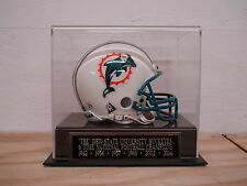 Display Case For Your Buckeyes 6X Champions Autographed Football Mini Helmet
