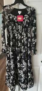 Isabel Maternity Size Small Floral Dress