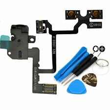 NEW Headphone Jack - Mute Switch Volume Buttons Flex Cable For iPhone 4 & Tools