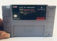 Tommy Moe'S Winter Extreme Skiing And Snowboarding Super Nintendo Snes 1994