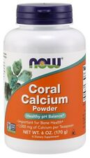 Coral Calcium 100 Genuine Okinawa 1000mg X 100vcaps Now Foods 24hr DISPATCH
