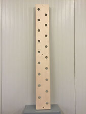 "8"" X 60"" Climbing Peg Board Gym Pegboard Crossfit Training Parkour Ninja"