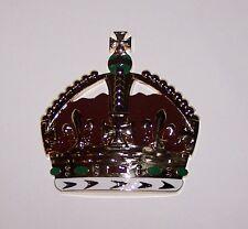 Royal Royalty King Crown Auto Car Hood Motorcycle Emblem Medal Badge Display Art