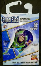 SuperSled Nylon Framesless Kite (Buzz Lightyear Toy Story 4) 32 In. wide *New*