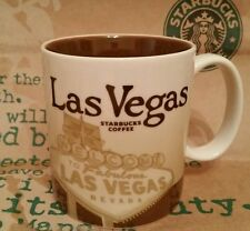Starbucks Coffee City Mug/Tasse/Becher LAS VEGAS, Global Icon,NEU m.SKU-Sticker!