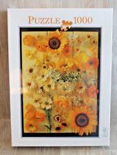 Puzzle 1000 pièces - Fleurs Jaunes - NEUF