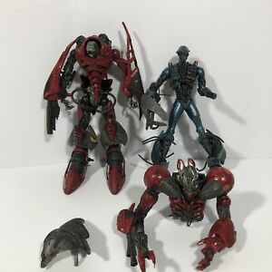 AS IS McFarlane Toys Spawn Cyber Units Lot Of 3 Viral Unit 001 Action Figures