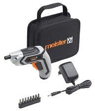 Destornillador inalámbrico 3.6v Atornillador luz LED Meister 5450020